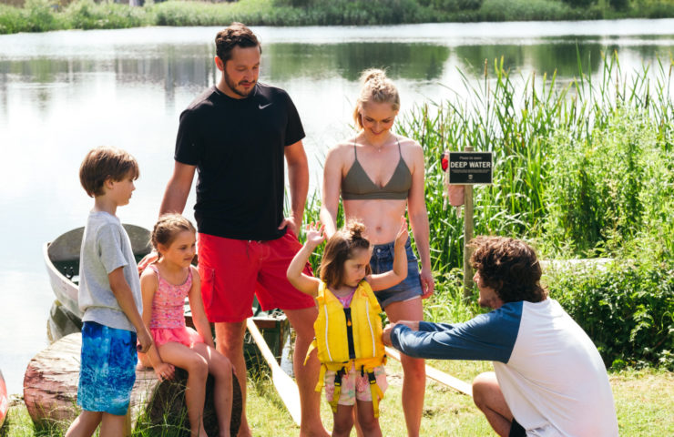Lower Mill Estate have outdoor activities with equipment and instruction